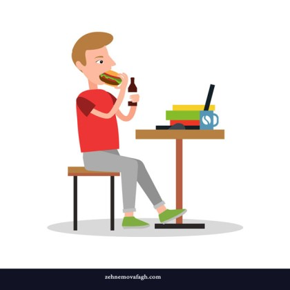 eating-and-drinking-worker-vector-21100706